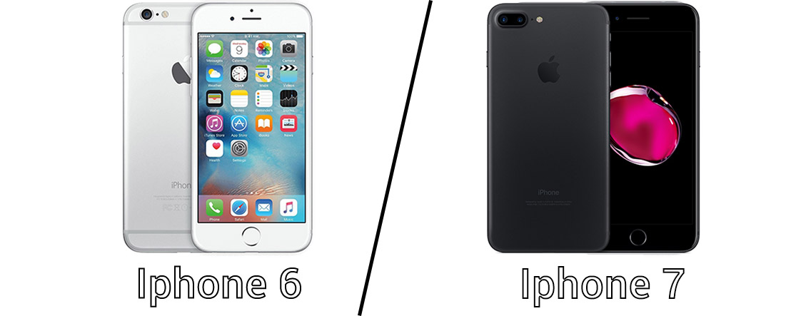Diff rence entre iphone 6 et iphone 7 for Difference entre pieux et micropieux