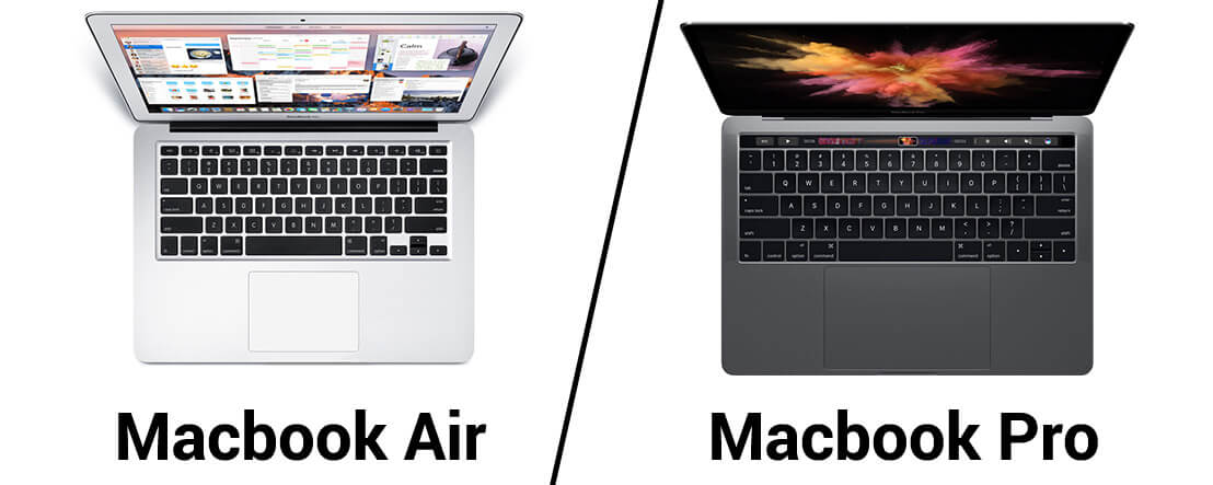 Diff rence entre macbook air et macbook pro for Difference entre pieux et micropieux